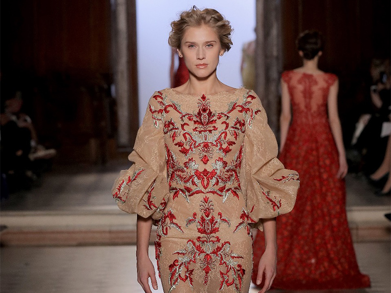Tony Ward Couture Spring Summer 2017 Celebrity Style Living